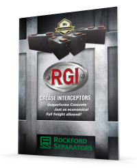 Rockford Separators RGI Grease Interceptors Brochure
