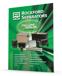 Rockford Separators Featuring  Their Full Product Line of Separators and Interceptors