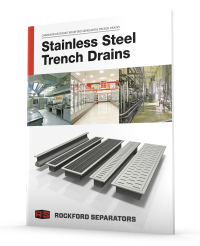 Rockford Separator Stainless Steel Trench Drains Brochure